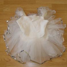 Costum carnaval serbare rochie dans belet pentru copii de 4-5 ani - Costum dans, Marime: Masura unica, Culoare: Din imagine