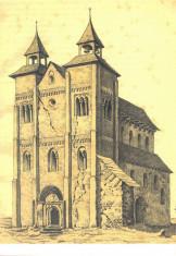 CP BN009 Complexul Muzeal Bistrita-Nasaud - Biserica din Herina -1885 foto