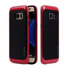 Husa TPU Motomo Armor Samsung Galaxy J7 (2016) RED - Husa Telefon