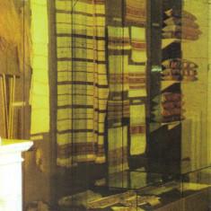 CP MS044 Muzeul Mures - Sectia Etnografie -  Tesaturi functional-decorative