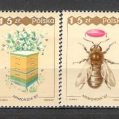 Polonia.1987 Congres mondial de apicultura Varsovia SP.381 - Timbre straine, Nestampilat