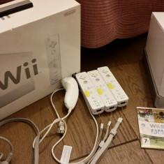 Consolă de jocuri Nintendo Wii - perfectă pentru ziua copilului!
