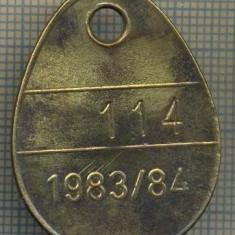 ZET 294 MEDALION INREGISTRARE CAINE -HUNDEKONTROLLE -BASEL STADT-114 -1983/84, Europa