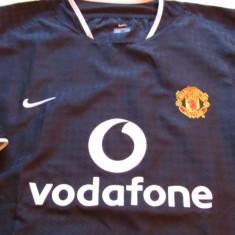 Tricou NIKE fotbal - MANCHESTER UNITED - Tricou echipa fotbal, Marime: XL, Culoare: Negru