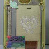 Husa Unica Denim pentru iPhone 6/ 6S, iPhone 6/6S, Maro, Textil