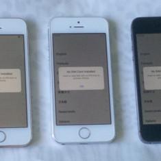 iPhone 5S Apple 16GB pentru piese, Argintiu