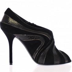Pantofi dama Dolce & Gabbana - Pantof dama Dolce & Gabbana, Culoare: Din imagine, Marime: 37, Piele naturala, Cu toc