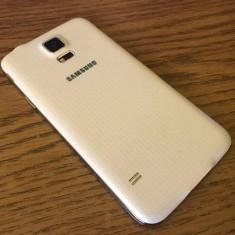 Samsung Galaxy S5 - Telefon mobil Samsung Galaxy S5, Alb, 16GB, Neblocat, Single SIM
