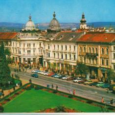 CPI (B8658) CARTE POSTALA - CLUJ NAPOCA. PIATA LIBERTATII - Carte Postala Transilvania dupa 1918, Necirculata, Fotografie
