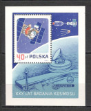 Polonia.1987 30 ani cosmonautica-Bl.  SP.385, Nestampilat