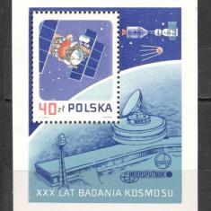 Polonia.1987 30 ani cosmonautica-Bl. SP.385 - Timbre straine, Nestampilat