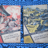 Camil BACIU - EXPERIENTA COLOMBINA (2 VOL., Nr. 126-127, Colectia POVESTIRI SF) - Carte SF
