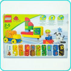 LEGO ® Duplo → Joc de construit cu numere → 2-5 ani | 42 piese | 6 activitati