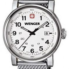 Wenger Urban 01.1041.112 ceas barbati 100% original. Garantie. Livrare rapida., Casual, Quartz, Inox