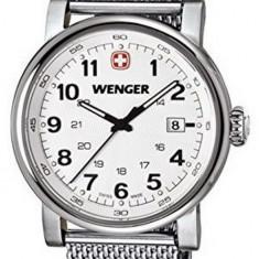 Wenger Urban 01.1041.112 ceas barbati 100% original. Garantie. Livrare rapida. - Ceas barbatesc Wenger, Casual, Quartz, Inox, Data