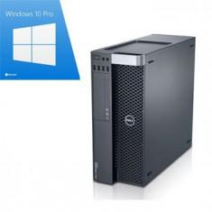PC gaming Dell T3600, E5-1650, GeForce GTX 1050 OC, Win 10 Pro - Sisteme desktop fara monitor Dell, Windows 10