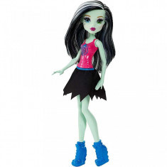 Jucarie fetite papusa Monster High Frankie Stein Mattel colectia majorete