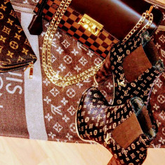 GENTI LOUIS VUITTON NEW MODEL/CALITATE GARANTATA/LOGO AURIU - Geanta Dama Louis Vuitton, Culoare: Din imagine, Marime: One size