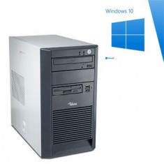 PC Refurbished Fujitsu Siemens ESPRIMO P2520, E2180, Win 10 Home - Sisteme desktop fara monitor Siemens, Windows 10