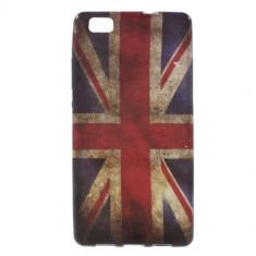 Husa Huawei P8 Lite Gel TPU UK Flag - Husa Telefon
