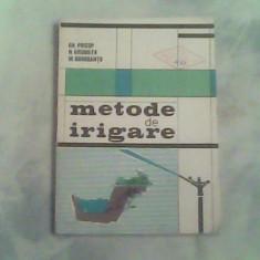 Metode de irigare-Dr.Ing.Gh.Pricop,Ing.N.Grumeza,Ing.M.Dorobantu