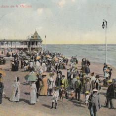 CONSTANTA BAILE DE LA MAMAIA CIRCULATA - Carte Postala Dobrogea 1904-1918, Printata