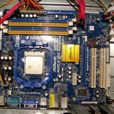 Placa de baza socket Am2+ Am3 ASROCK N68C-S UCC /Cpu Unlock 4sloturi DDR2 +DDR3, Pentru AMD, Mini-ATX