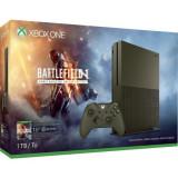Consola Xbox One Slim 1 TB, olive green + Joc Battlefield 1 (cod download ) + 1 month EA Access