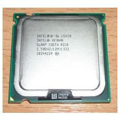 Procesor Intel Xeon L5420 12M Cache, 2.50GHz, 1333 MHz, 50w, sk 771 modat la sk775 - Procesor server, Intel Quad, 2500- 3000 Mhz, LGA775