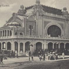 CONSTANTA CASINUL CASINO CIRCULATA 1914 - Carte Postala Dobrogea 1904-1918, Printata