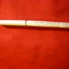 Stilou Elysee RFG ,penita posibil aur F ,corp emailat ,inscript. Pariuri Israel