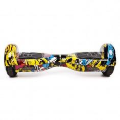 Hoverboard Koowheel S36 Yellow Graffiti 6, 5 inch