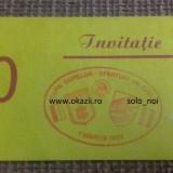 Bilet Invitatie DINAMO - SAMPDORIA 1988-1989 Cupa Cupelor