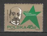 Polonia.1987 100 ani limba esperanto  SP.379