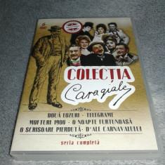 Colectia Caragiale - Seria Completa - 6 DVD Piese de Teatru