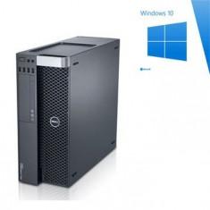 PC gaming Dell T3600, E5-1650, GeForce GTX 1050 OC, Win 10 Home - Sisteme desktop fara monitor Dell, Windows 10
