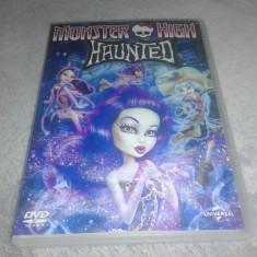 Monster High - Haunted - DVD dublat limba romana si engleza