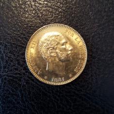 Moneda de aur - Moneda Romania
