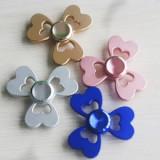 NOU! FIDGET SPINNER FLOWER COMPLET METALIC,RULMENT DE MARE VITEZA,CUTIE CADOU!