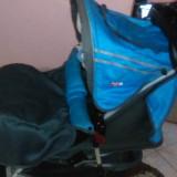 """Carut 2 in 1 """"Primii pasi"""" - Carucior copii 2 in 1 Primii Pasi, Albastru"""