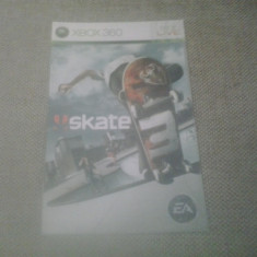 Manual - Skate 3 - XBOX 360