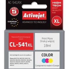 Cartus compatibi CL-541 XL Color pentru Canon, 18 ml, Premium Activejet, Garantie 5 ani