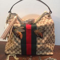 Geanta Gucci 2017 - Geanta Dama Gucci, Culoare: Maro, Marime: Mare