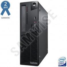 Calculator Lenovo M70E, Q6600 2.4GHz, 2GB DDR3, Video GMA X4500, 160GB, NO OPTIC