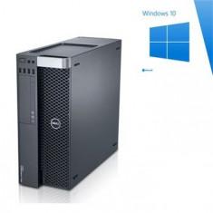 PC Gaming Dell T3600, E5-1650, SSD, GTX 1050 OC, Windows 10 Home - Sisteme desktop fara monitor