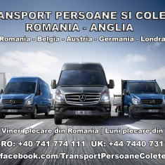 Transport persoane si colete