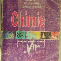 020. Chimie, manual pentru clasa a VII-a (Sanda Fatu) - Manual scolar corint, Clasa 7