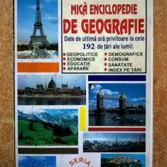Mica enciclopedie de geografie Larousse - Carte Geografie