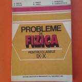 PROBLEME DE FIZICA pentru clasele IX-X A.Hristev 1992 - Carte Fizica