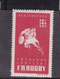 ROMANIA 1944  LP 164  RUGBY   MNH